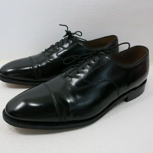 Johnston & Murphy Cap Toe Leather Dress Shoes 15